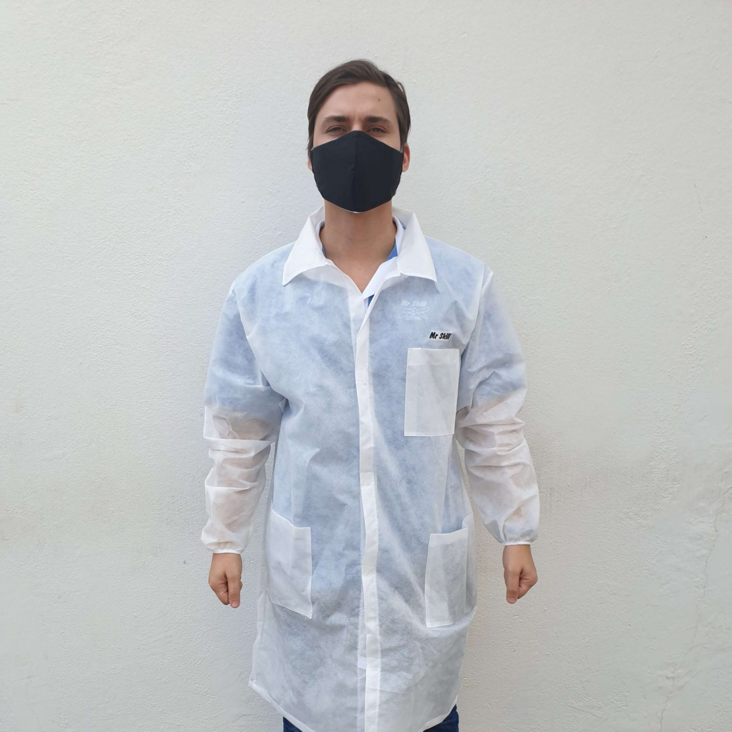 Coverall without hood (single use)